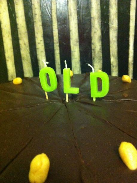 old cake