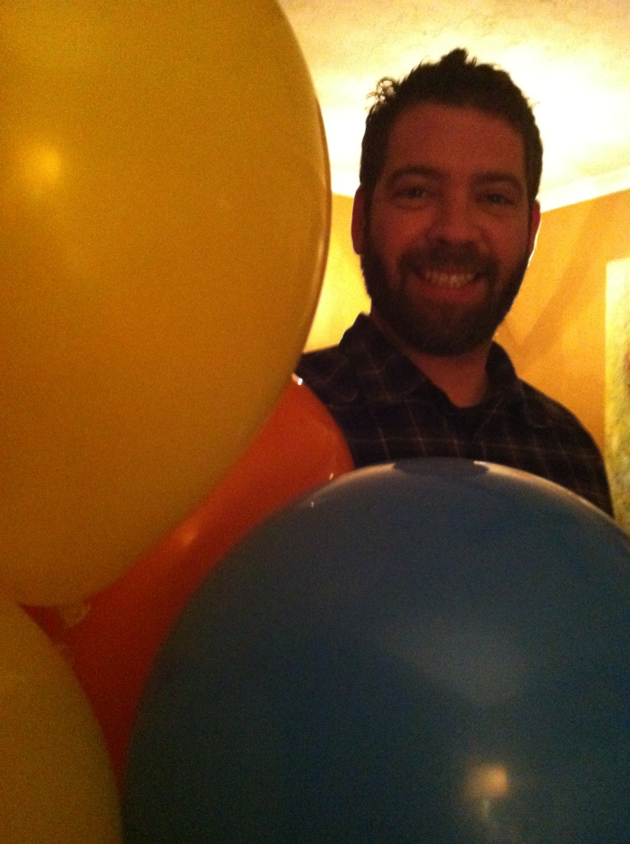 ster in balloons